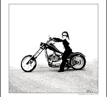"""Colorado Biker Chick"" by Don Bailey"