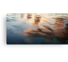 Sunset Reflections at Ann Bay........ Canvas Print