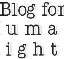 I blog for Human Rights by Bobbi Miller-Moro
