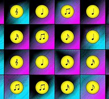 Music notes by Gaspar Avila