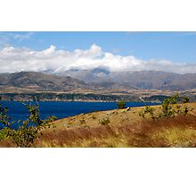 Lake Benmore South Island New Zealand Photographic Print
