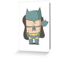 Batmon Greeting Card