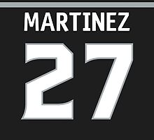 Los Angeles Kings Alec Martinez Jersey Back Phone Case by Russ Jericho
