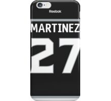 Los Angeles Kings Alec Martinez Jersey Back Phone Case iPhone Case/Skin