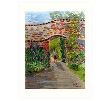 The Walled Garden Art Print