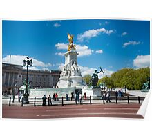 Queen Victoria Monument Buckingham Palace London Poster