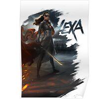 Lexa: To War Poster