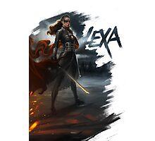 Lexa: To War Photographic Print