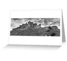 Carreg Cennen Castle, Wales Greeting Card