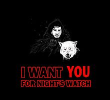 i want YOU for night's watch by Mapivwi