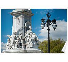 Queen Victoria Monument Detail #2 Colour Poster