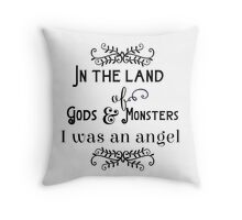 Gods and Monsters - T Throw Pillow