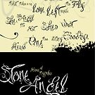 Stone Angel Typeface Sample page by chung-deh tien