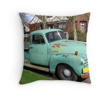 A Gardener's Truck Throw Pillow