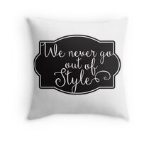 Style - T  Throw Pillow