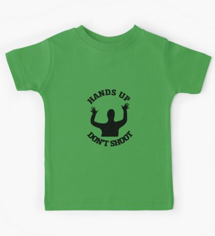 Hands Up Don't Shoot Protest Kids Tee