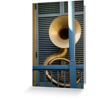 Architectural Music Greeting Card