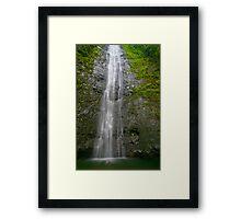 Manoa Falls Framed Print