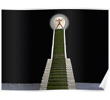 A Stairway to the Moon. Poster