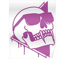 Wayfaring Undead - Purple Poster