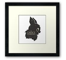 a choice is coming... Framed Print