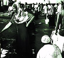 Zanzibar- fish market by gluca