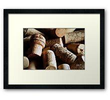 Cork it  Framed Print