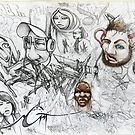 FUSION art by filipesanttana