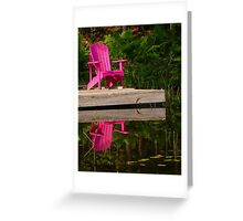 Happy Solitude Greeting Card