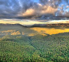 As Far As The Eye Can See - Blue Mountains Worls Heritage Area - The HDR Experience by Philip Johnson