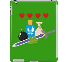 Legend of Zelda Items iPad Case/Skin