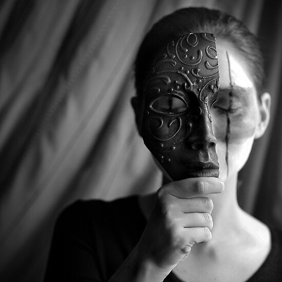The Woman With the Iron Mask by Osman Andrei