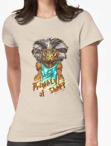 Primacy of sheet. Womens Fitted T-Shirt