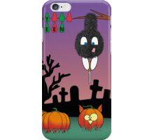 Nyu - Happy Halloween iPhone Case/Skin