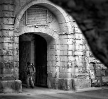 Greek's Gate - Mdina, Malta by Jakov Cordina