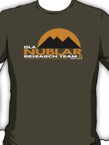 Isla Nublar Research Team 93 T-Shirt