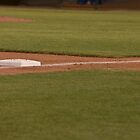Third Base on a Well Groomed Infield,... It's Baseball Season!!! by Buckwhite