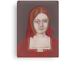 His First Victim (Catherine Of Aragon) Canvas Print