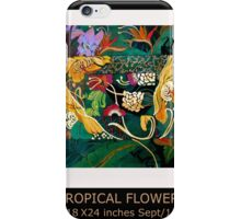 Floral study iPhone Case/Skin
