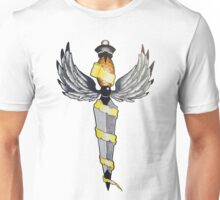 Dagger with Wings Unisex T-Shirt