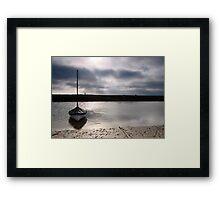 Low tide at Blakeney Framed Print