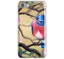Bluebird by Gretchen Smith iPhone Case/Skin