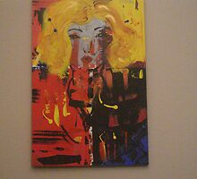 Abstract Marylin by zuleika18