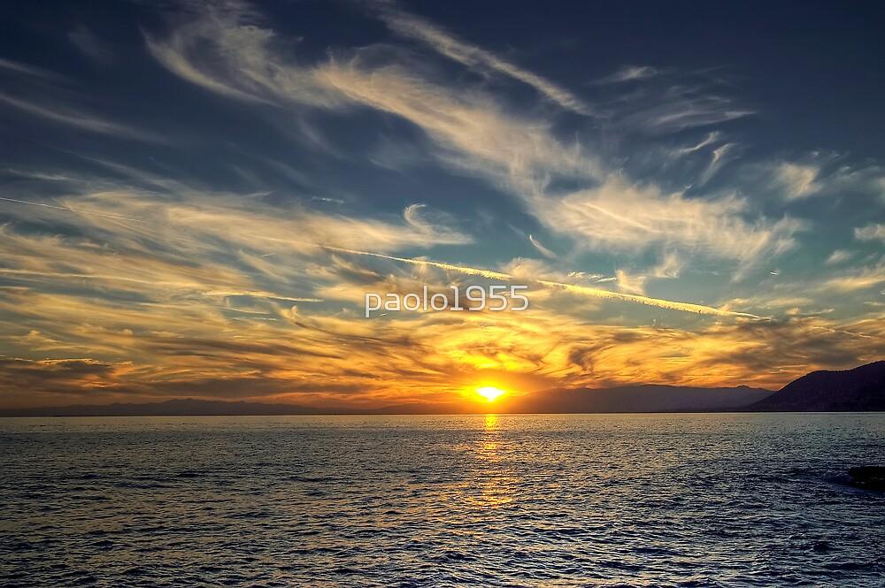 Camogli Sunset by paolo1955