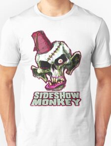 SIDESHOW MONKEY SHIRT - weathered T-Shirt