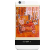 Cottage chair iPhone Case/Skin
