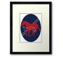 Equestrian Life Framed Print