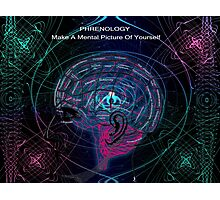 Make A Mental Picture of Yourself Photographic Print