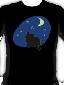 The kitten Staring at the Sky T-Shirt