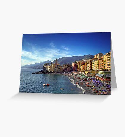 Camogli - Landscape Greeting Card